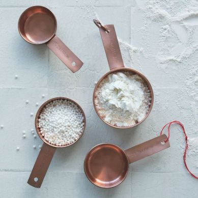 10. West Elm Copper Spoons
