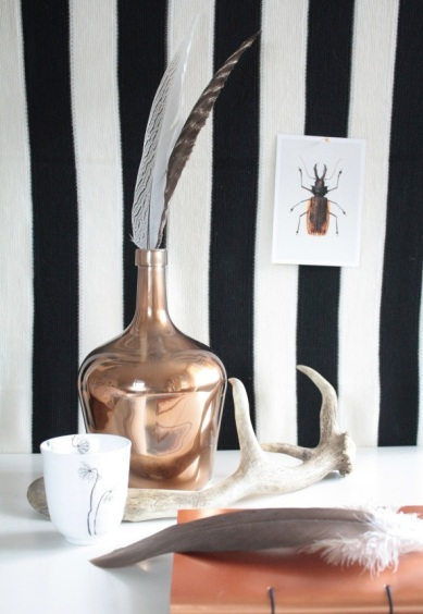 11. Copper Glass Vase 1