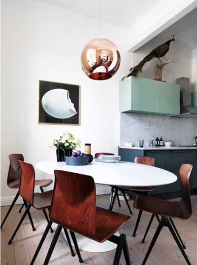 3. Tom Dixon copper lamp1