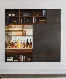 This cabinet is a high-end modular wall unit from andrewfranz.com.