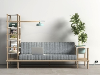 The Herb multifunctional sofa and living space on kocakburak.com.