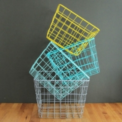 Nest of four storage baskets by Berylune on notonthehighstreet.com.