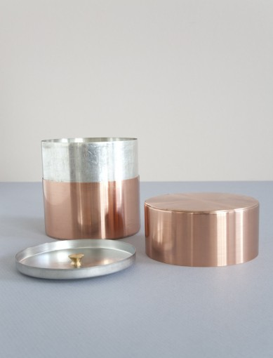 9. Kaikado Copper Tea Caddy 1