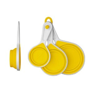collapsable measuring cups by zing