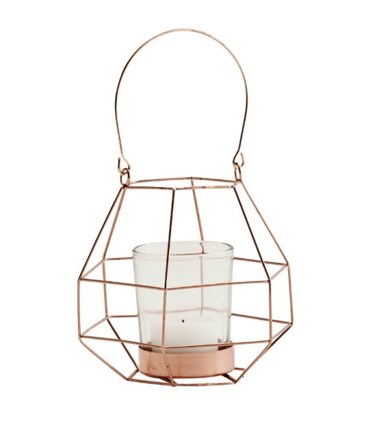 COPPER WIRE T-LIGHT HOLDER, €12.95, moss.ie