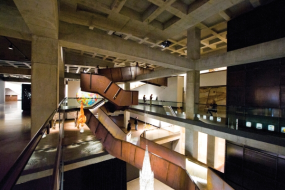 MUSEUM OR EXHIBITION SPACES: MONA (Museum of Old and New Art), Hobart, Australia