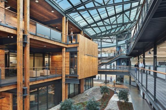 WORKSPACE INTERIORS: Federal Center South Building, Seattle