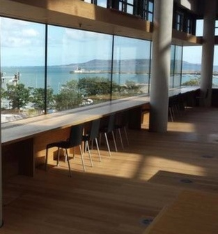 view_of_the_harbour_from_inside_dun_laoghaire_library