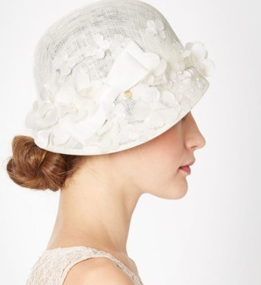 Blossom cloche hat, Stephen Turner