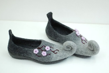 Fairy blossom shoes on Etsy