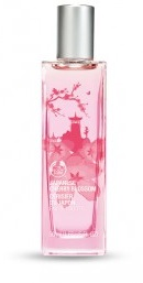 Japanese chery blossom eau de toilette at Bodyshop