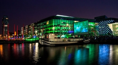 Movie nights in Grand Canal Dock © Dan Alexandru