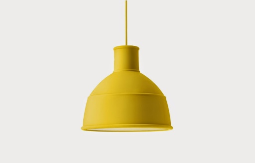 inreda_Unfold. Pendant lamp. Yellow.