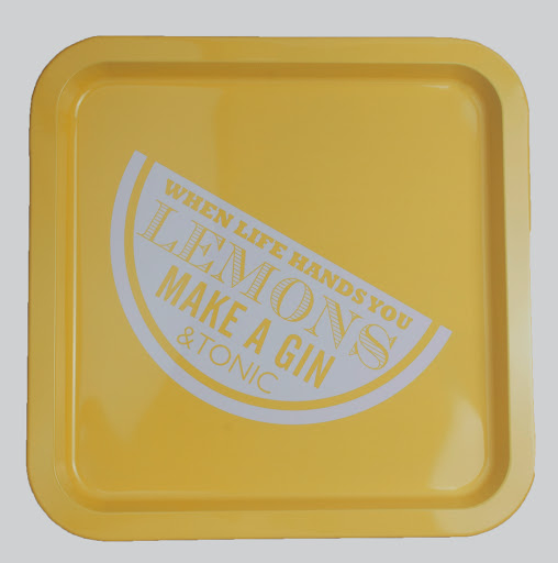 the contemporary home_When Life Gives You Lemons Tray - £10.00