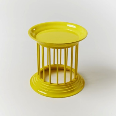 West Elm_gates lacquer side table lemon 84e