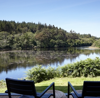 10. And, finally, the garden by the lake at Ballynahinch Castle in Connemara.