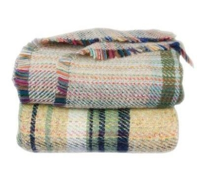 Recycled wool throws (set of two), now €60, www.blarney.com