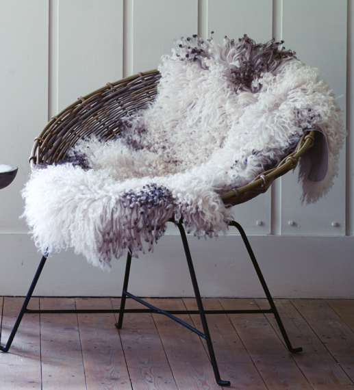 Curly sheepskin, around €210, www.coxandcox.co.uk