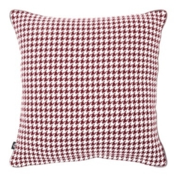 Carolyn Donnelly Eclectic Houndstooth Cushion, €15, Dunnes Stores