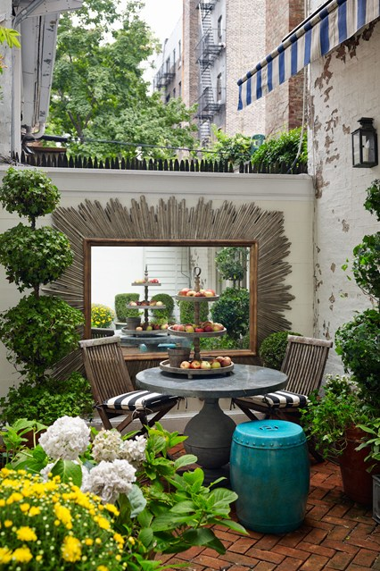 Garden in Manhattan