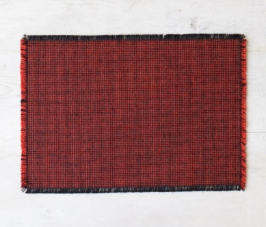 Hand-woven Mourne check placemat (set of four), around €110, www.mournetextiles.com