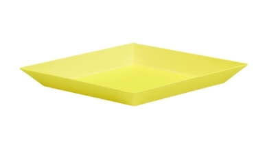 Kaleido tray by HAY in yellow, around €14, wearemaven.co.uk