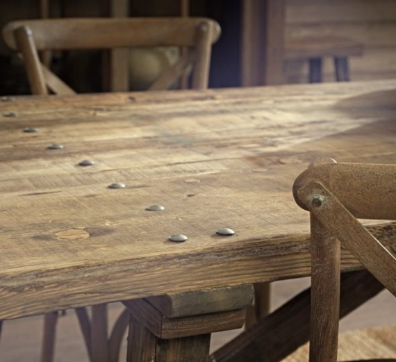 Granville dining table, €1,332, www.soullifestyle.ie