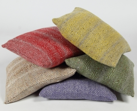 Tweed cushion by Studio Donegal, €49, www.makersandbrothers.com