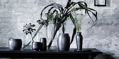 Dark accessories on TineK Danish design store
