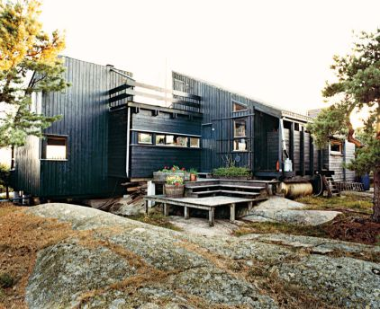 Norwegian house exterior on dwell.com