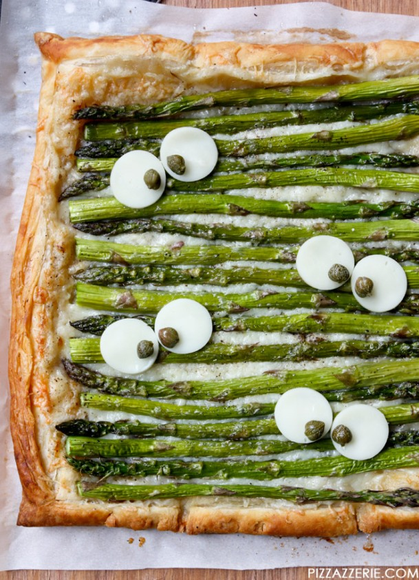 Pizzazzerie.com-Monster-Eye-Asparagus-Gruyere-Tart-1