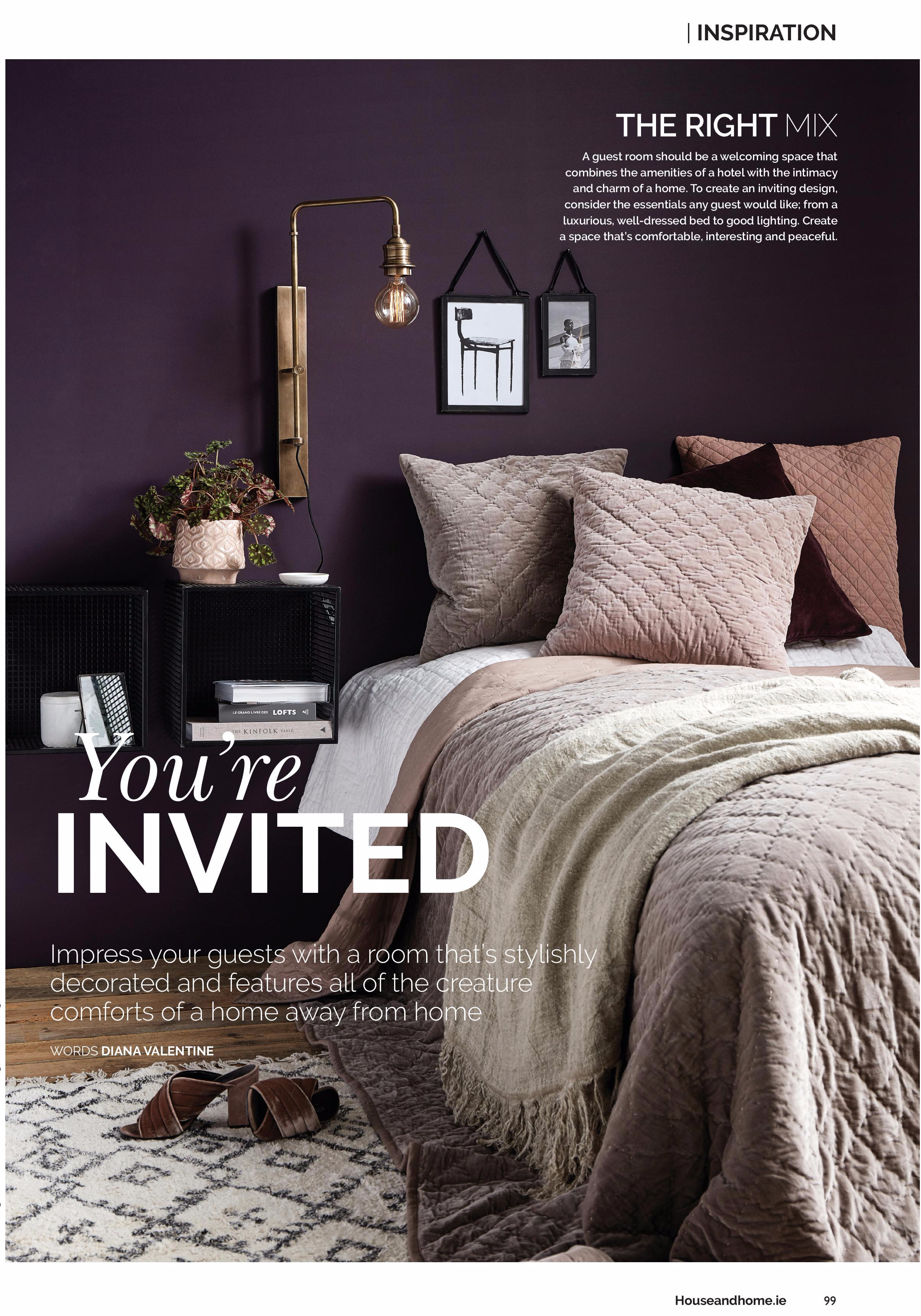 House And Home Interiors Magazine Ireland, Nordal Interiors ...
