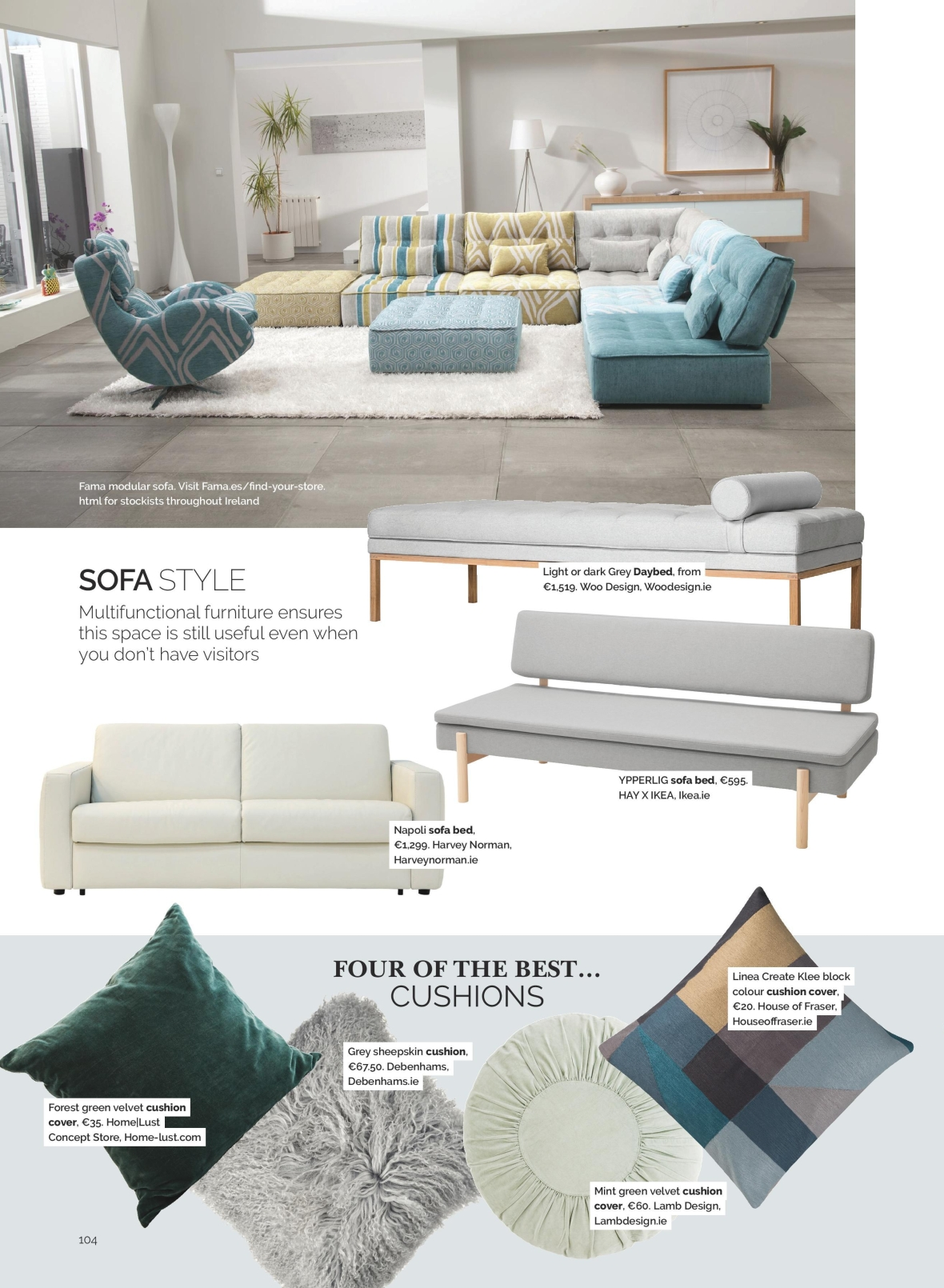 house and home interiors magazine ireland
